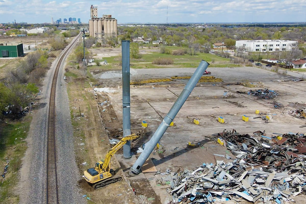 Commercial Demolition in Ft. Worth